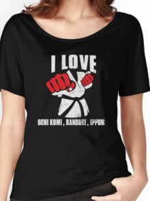 I LOVE JUDO Women's Relaxed Fit T-Shirt