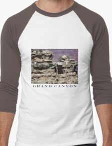 Grand Canyon 10 Men's Baseball ¾ T-Shirt