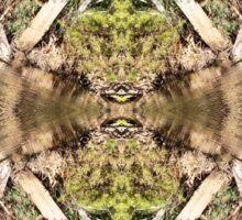Riverbank Reflection Sticker