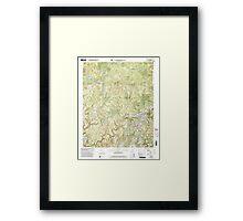USGS TOPO Map Alabama AL Upshaw 305275 2000 24000 Framed Print