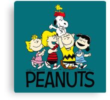 Peanuts And Friends Canvas Print
