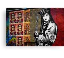 Freedom - Graffiti Canvas Print