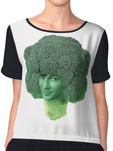 devon broccoli Chiffon Top