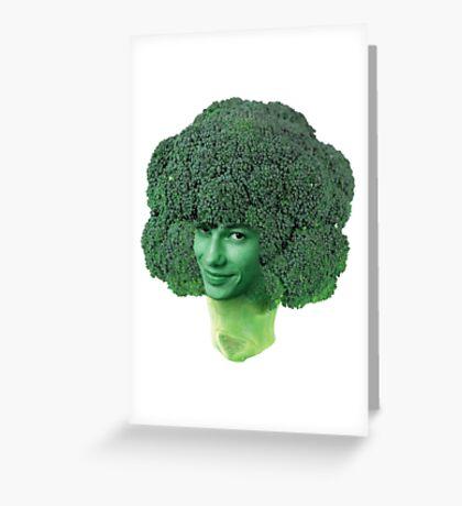 devon broccoli Greeting Card