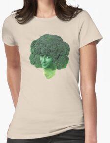 devon broccoli Womens Fitted T-Shirt