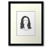 Pam Framed Print