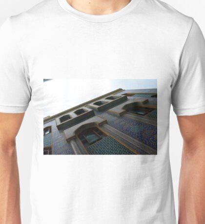 Muslin mosque facade with decorative mosaic. Unisex T-Shirt