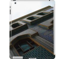 Muslin mosque facade with decorative mosaic. iPad Case/Skin