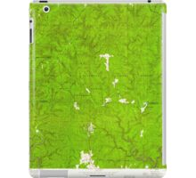 USGS TOPO Map Alabama AL Grayson 304030 1960 24000 iPad Case/Skin