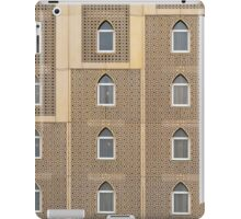Building facade with many windows and Muslim decoration. iPad Case/Skin