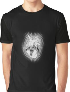 Anatomical Heart Graphic T-Shirt