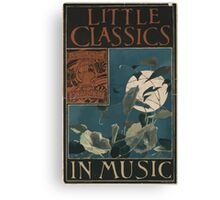 Artist Posters Little classics in music 0519 Canvas Print