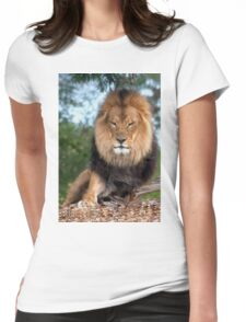0280 Lion Womens Fitted T-Shirt