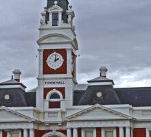 Former Town Hall, Ararat, Victoria, Australia Sticker