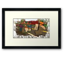 NOT Zombie Food Unturned Merchandise Framed Print