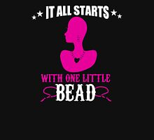IT ALL STARS WITH ONE LITTLE BEAD Womens Fitted T-Shirt