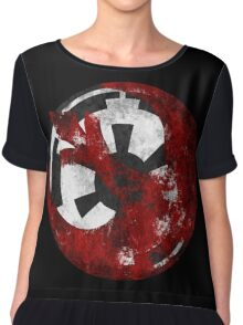 Rebel Alliance and the Galactic Empire Chiffon Top
