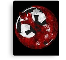 Rebel Alliance and the Galactic Empire Canvas Print