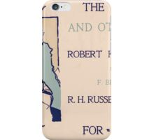 Artist Posters The delft cat and other stories by Robert Howard Russell illustrated by F Berkeley Smith 0931 iPhone Case/Skin