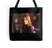 Kate Beckett Tote Bag