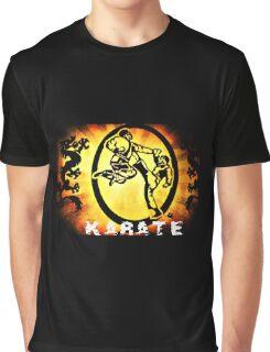 空手 Karate Graphic T-Shirt