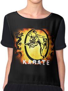 空手 Karate Chiffon Top