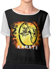 空手 Karate Chiffon Top