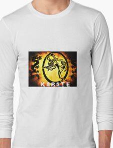 空手 Karate Long Sleeve T-Shirt