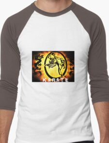 空手 Karate Men's Baseball ¾ T-Shirt