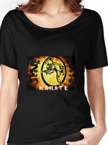 空手 Karate Women's Relaxed Fit T-Shirt