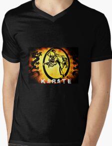 空手 Karate Mens V-Neck T-Shirt