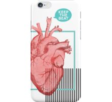 Keep the Beat iPhone Case/Skin