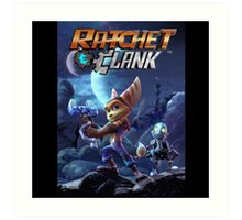 Ratchet And Clank The Movie Art Print
