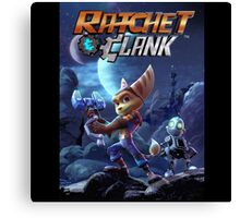 Ratchet And Clank The Movie Canvas Print