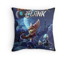 Ratchet And Clank The Movie Throw Pillow