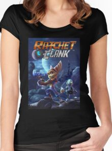 Ratchet And Clank The Movie Women's Fitted Scoop T-Shirt