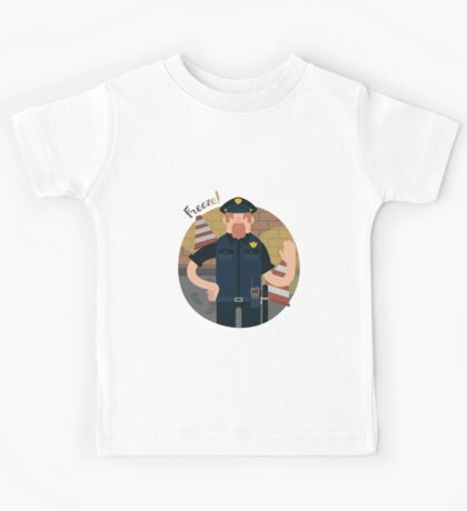 Police office Kids Tee