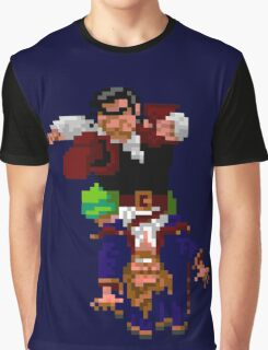 Largo LaGrande and Guybrush (Monkey Island 2) Graphic T-Shirt