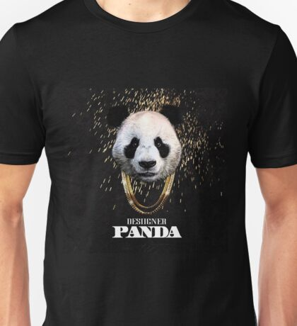 DESIIGNER PANDA TOP CHART Unisex T-Shirt
