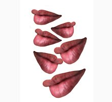 Lips concept,multiple images on page Unisex T-Shirt
