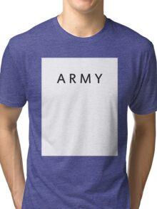 BTS ARMY Tri-blend T-Shirt