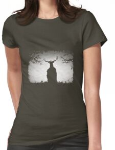 Herne The Hunter Appears Womens Fitted T-Shirt