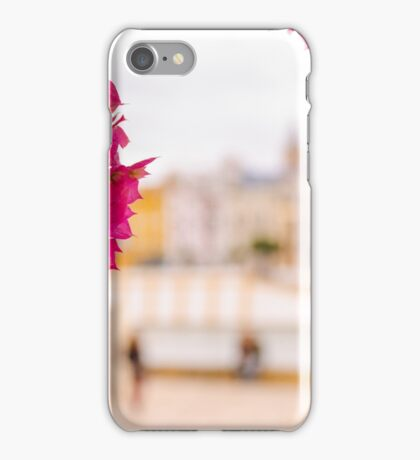 Seville - Flowers and Calle Betis iPhone Case/Skin