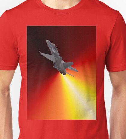 Shoot For The Sky - RAAF F/A-18 Design Unisex T-Shirt
