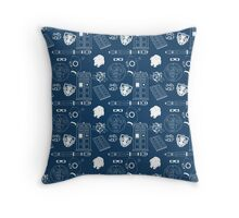 Wibbly wobbly... stuff Throw Pillow
