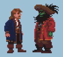 Guybrush & LeChuck (Monkey Island 2) Baby Tee