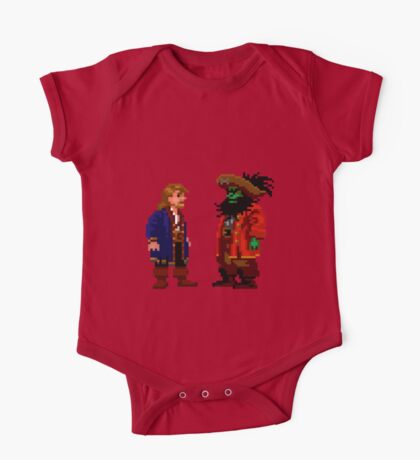 Guybrush & LeChuck (Monkey Island 2) One Piece - Short Sleeve