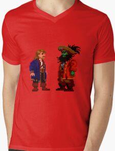 Guybrush & LeChuck (Monkey Island 2) Mens V-Neck T-Shirt