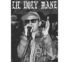 LIL UGLY MANE - MISTA THUG ISOLATION TSHIRT Photographic Print