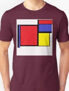 Tribute to 80's Mondrian T-Shirt